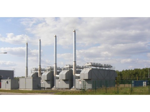 12MWe GE JENBACHER JMS620GSF01[x4] Used Pre-owned Natural Gas Power Plant 2007y 400V