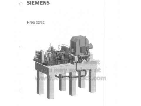 18.2MWe Surplus new SIEMENS ELIN Turbine Combined cycle power plant [x1] HFO or Natural gas 2005y 6300V