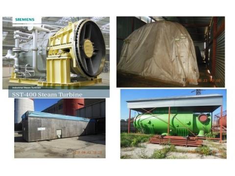 38 MWe SIEMENS SST-400 Condencing Steam turbine ABB Generator [x1]  2013Y 10500V 50HZ 1500RPM