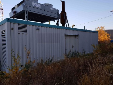 1.03MWe CATERPILLAR G3516 [1287 kVa x1] Used Refurbished Container packaged Power plant 2008NCY 400V 50HZ