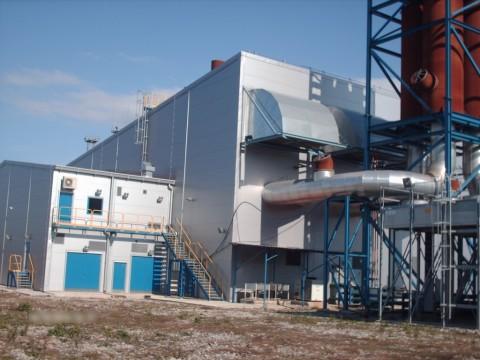 26 MWe WARTSILA 20V34SG [10913kVA x3] Unused cogeneration power plant 2007Y 10500V 50Hz