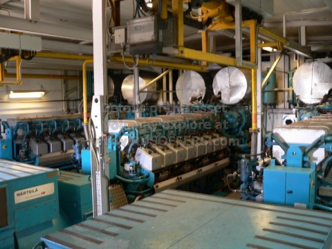 8MWe WARTSILA 16V25SG [x3] Used Pre-owned Natural Gas CHP Power Plant 1994y 10000V
